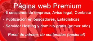 Pack Página Web Premium