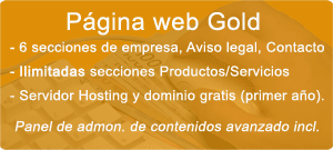Pack Página Web Gold